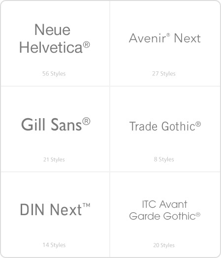 Top Web Fonts